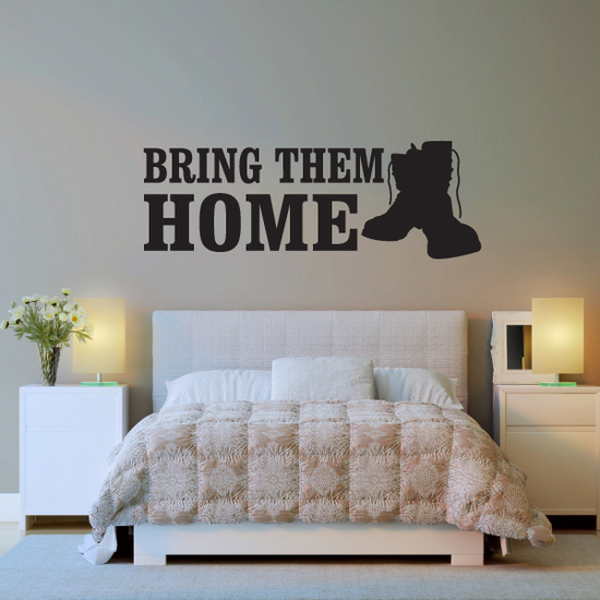 Bring Them Home Boots Decal