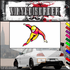 Ice Skating Wall Decal - Vinyl Sticker - Car Sticker - Die Cut Sticker - SMcolor036