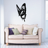 Approaching Tail Winged Butterfly Decal