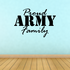 Proud Army Family Decal