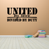 United by Love Decal