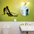 Skiiing Wall Decal - Vinyl Decal - Car Decal - 004