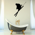 Skiiing Wall Decal - Vinyl Decal - Car Decal - 008