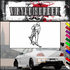 Skiing Wall Decal - Vinyl Decal - Car Decal - SM002
