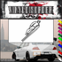 Skiing Wall Decal - Vinyl Decal - Car Decal - SM005