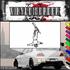 Skiing Wall Decal - Vinyl Decal - Car Decal - SM009