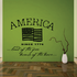 Land of the Free Since 1776 Wall Decal