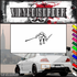 Skiing Wall Decal - Vinyl Decal - Car Decal - SM022