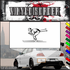 Skiing Wall Decal - Vinyl Decal - Car Decal - SM023