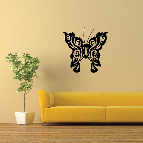 Butterfly Wall Decal - Vinyl Decal - Car Decal - CF134