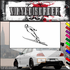 Skiing Wall Decal - Vinyl Decal - Car Decal - SM024