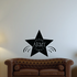 Proud Army Family Star Decal