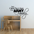 Special Place for an Army Family Script Decal