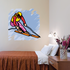 Skiing Wall Decal - Vinyl Sticker - Car Sticker - Die Cut Sticker - SMcolor006