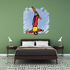 Skiing Wall Decal - Vinyl Sticker - Car Sticker - Die Cut Sticker - SMcolor009