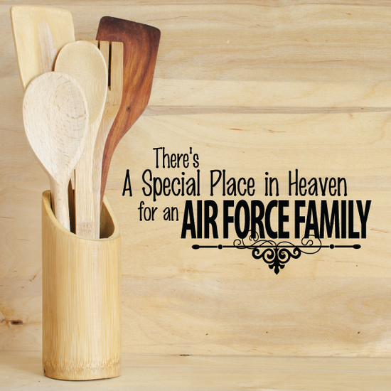 Special Place for an Air Force Family Decal