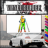 Skiing Wall Decal - Vinyl Sticker - Car Sticker - Die Cut Sticker - SMcolor020