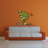Skiing Wall Decal - Vinyl Sticker - Car Sticker - Die Cut Sticker - CDSCOLOR047