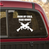 From My Cold Dead Hands Decal