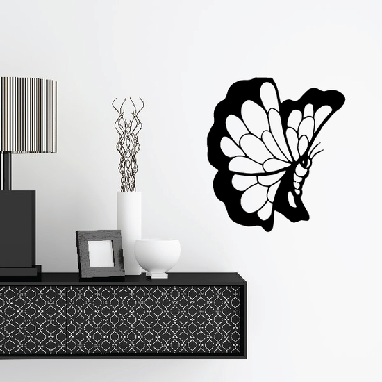 Butterfly Wall Decal - Vinyl Decal - Car Decal - CF373