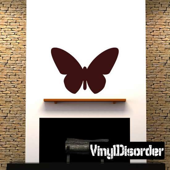 Butterfly Wall Decal - Vinyl Decal - Car Decal - Id003