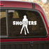 Shooters Car Decal