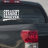 Straight Shooter Decal