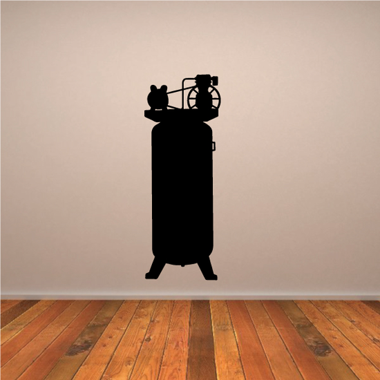 Large Air Compressor Decal