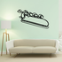 Skiing Wall Decal - Vinyl Decal - Car Decal - CDS001