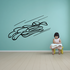 Skiing Wall Decal - Vinyl Decal - Car Decal - CDS002