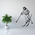 Skiing Wall Decal - Vinyl Decal - Car Decal - CDS051