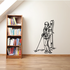 Skiing Wall Decal - Vinyl Decal - Car Decal - CDS053