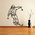 Skiing Wall Decal - Vinyl Decal - Car Decal - CDS054