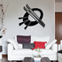 Skiing Wall Decal - Vinyl Decal - Car Decal - CDS058
