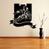 Skiing Wall Decal - Vinyl Decal - Car Decal - CDS067