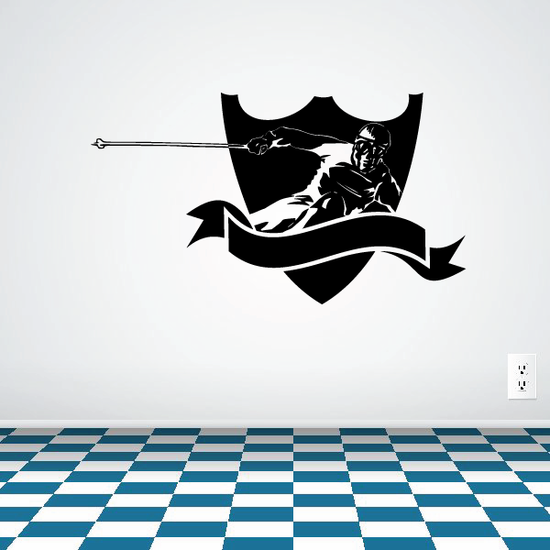 Skiing Wall Decal - Vinyl Decal - Car Decal - CDS068
