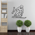 Skiing Wall Decal - Vinyl Decal - Car Decal - Bl011