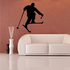 Skiing Wall Decal - Vinyl Decal - Car Decal - Bl021