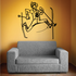 Skiing Wall Decal - Vinyl Decal - Car Decal - Bl023