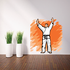 Karate Wall Decal - Vinyl Sticker - Car Sticker - Die Cut Sticker - SMcolor001