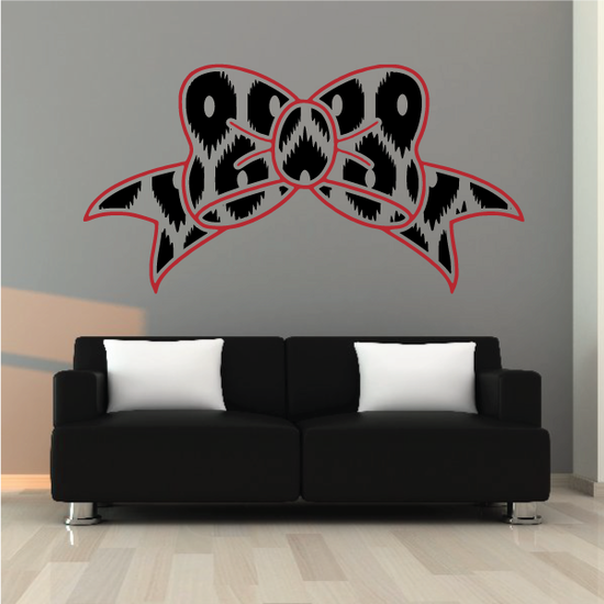 Ribbon Color Wall Decal - Vinyl Decal - Car Decal - Vd007