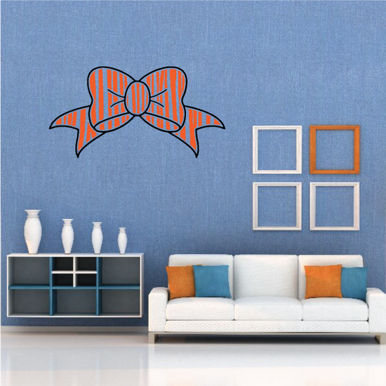Ribbon Color Wall Decal - Vinyl Decal - Car Decal - Vd009