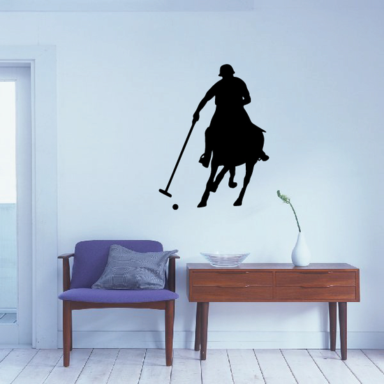 Polo Rider Decal