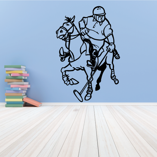 Goofy Polo Player Decal