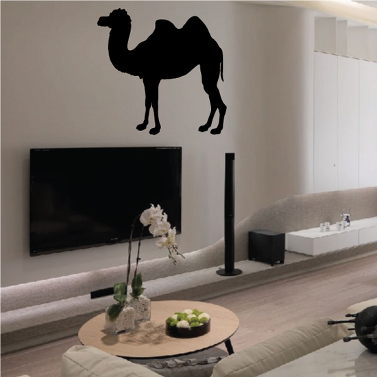 Standing Camel Decal