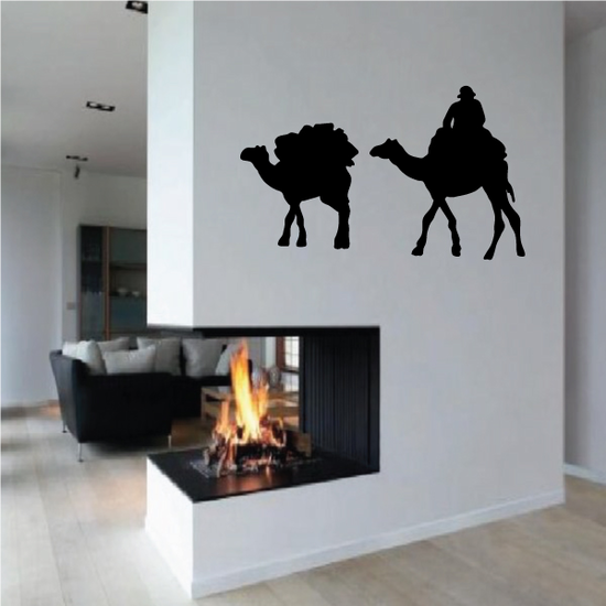 Packed Camels Decal