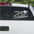 I Gave My Heart To A Soldier His Duty Dad Soldier Decal