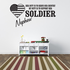 Her Duty Niece Soldier Decal