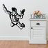 Skydiving Looking Diver Decal