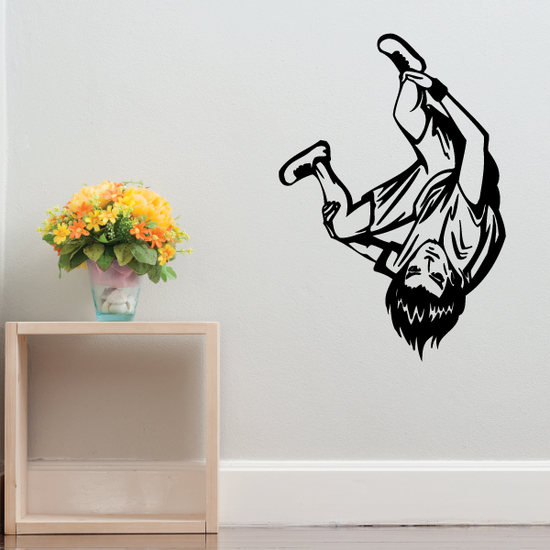 Skydiving Spin Trick Decal